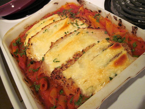 Kitchen Sink Chicken Parm