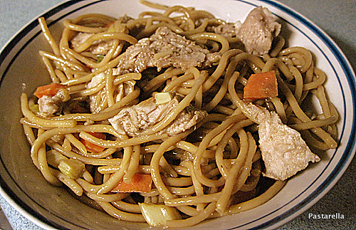 Sesame Noodles With Pork