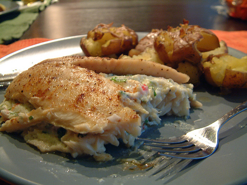 Stuffed Baked Fish
